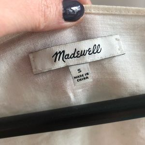 Madewell Tops - Madewell Embroidered Wildfield Top Small